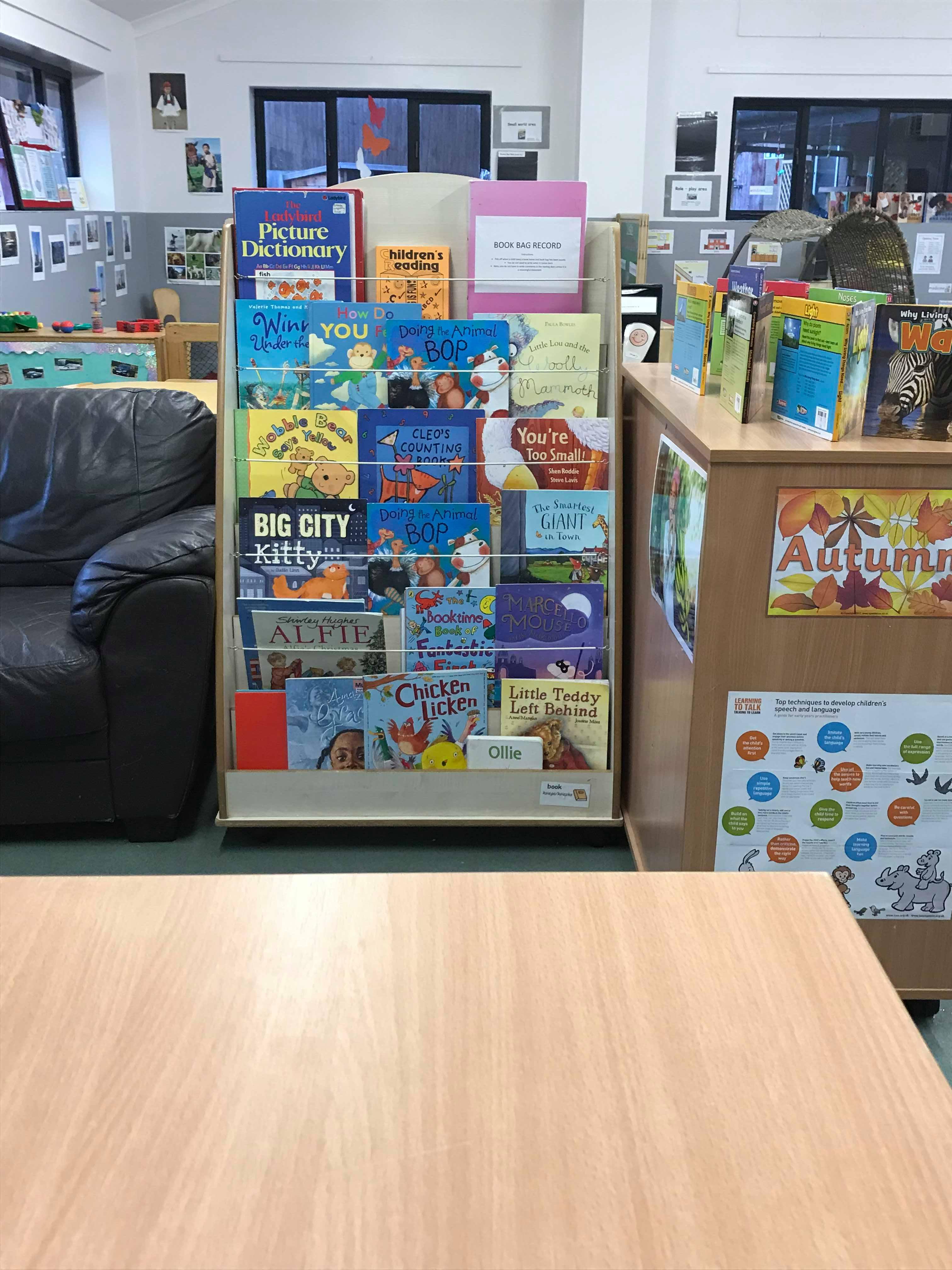 Books area 2